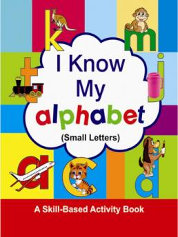 Abc small letters writing book